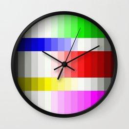 Geometric Spectrum - Abstract Design Wall Clock