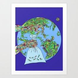 Space Picker Art Print