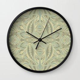 Trellis Wall Clock
