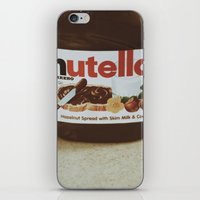 nutella iPhone & iPod Skins featuring Nutella by Danielle Clark