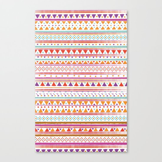 NATIVE BANDANA Canvas Print