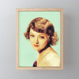 Myrna Loy, Actress Framed Mini Art Print