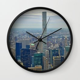 Lofty Park Ave Wall Clock