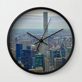 Lofty Park Ave Wall Clock