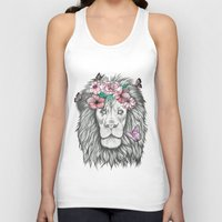 the lion king Tank Tops featuring Lion King by Sorasoraya