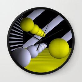 3D-geometry -9- Wall Clock