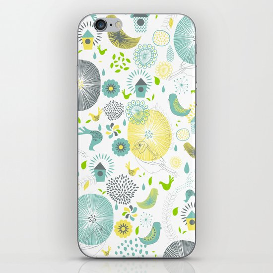 Spring Spirit iPhone & iPod Skin