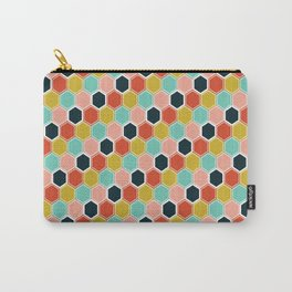 Honeycomb Jewels Carry-All Pouch