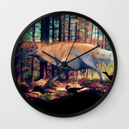 Hell's Creek Wall Clock