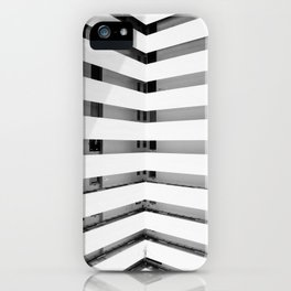 Folded Lines iPhone Case
