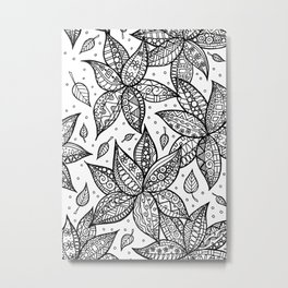 Dancing flowers Metal Print