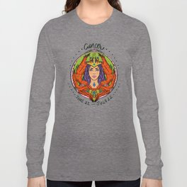 Zodiac: Cancer Long Sleeve T-shirt