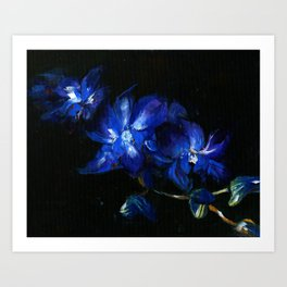 Orchid Falls Art Print