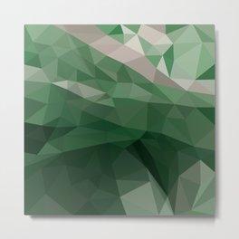 Green Vectors Metal Print