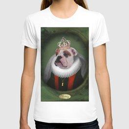 English Bulldog Art - Lucy T-shirt