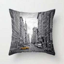 NEW YORK CITY Fifth Avenue Throw Pillow