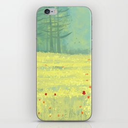 Meadow near Périgueux iPhone Skin