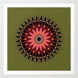 CD3 Rosette 1 Art Print