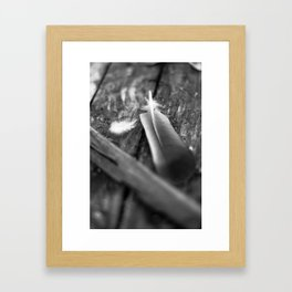 all that was lost Framed Art Print