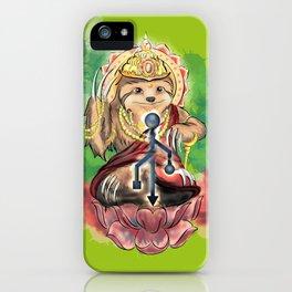 Holy sloth iPhone Case