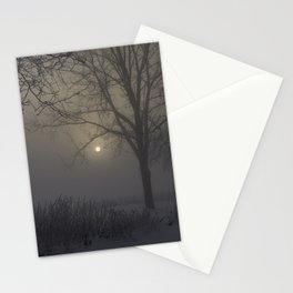 A Cold Winter Morning in Wisconsin Stationery Cards
