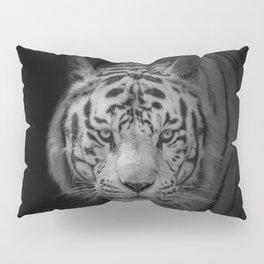 White Tiger Pillow Sham