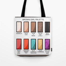 Brown Girl Palette Tote Bag