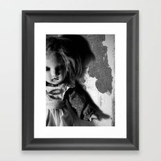 Old Doll 8-21-2007 060 Framed Art Print