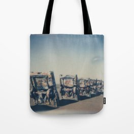 Cadillac Ranch - Route 66 Tote Bag