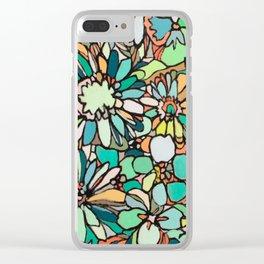 coralnturq Clear iPhone Case