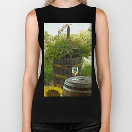 Sunday Sipping Biker Tank