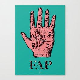 Fap (Hand) Canvas Print