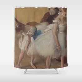"Edgar Degas ""Dance examination"" Shower Curtain"