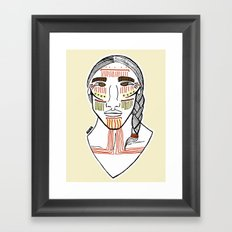 Cochimí Framed Art Print