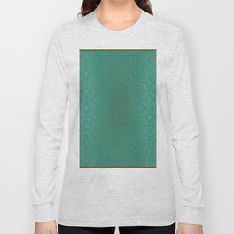 Pattern_Gold Long Sleeve T-shirt