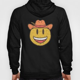 Cowboy Rancher cattleman  Smiley Gift Hoody
