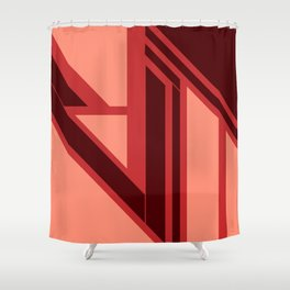 Emanate, #1 Blushed Shower Curtain