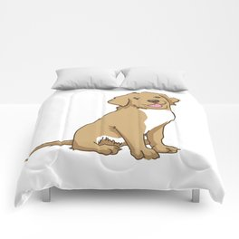 Golden Retriever Puppy Hound Gift Comforters