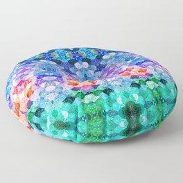 COSMIC KISS Floor Pillow