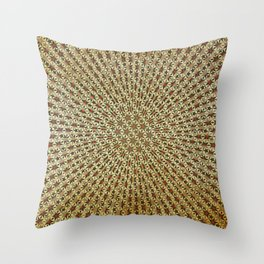 Radiating Stars Throw Pillow