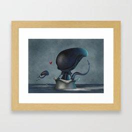 Xenolovers Framed Art Print