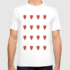 LOVERS Mens Fitted Tee White MEDIUM