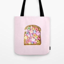 Pink Sugar Toast Tote Bag