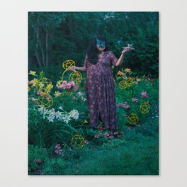 9 of Pentacles Canvas Print