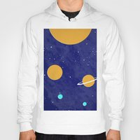 solar system Hoodies featuring Solar System by Quinn Shipton