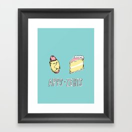 Apps & Zerts Framed Art Print