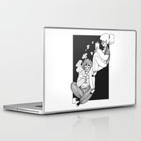 grantaire Laptop & iPad Skins featuring domestic e/R by voveart.tumblr.com