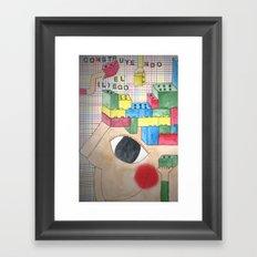 Lego Framed Art Print