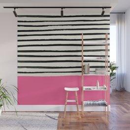 Watermelon & Stripes Wall Mural