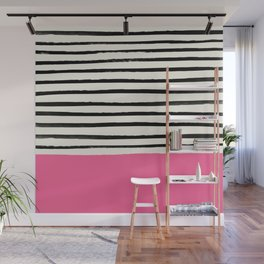 Watermelon & Stripes Wall Mural